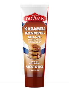 DOVGAN Gezuckerte Kondensmilch Karamell in Tube 150 g Сгущённое молоко Сгущёнка