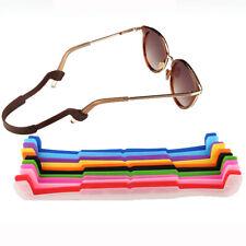 1PCS Non Slip Adjustable Silicone Eyeglasses Strap Strings Sunglasses Cords HOT