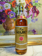 RUM EL GUAJIRO = VERY OLD BOTTLE = DORADO