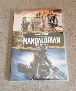 The Mandalorian Complete Series Seasons 1-2 (DVD, Region 1)  12 1 2 Brand New