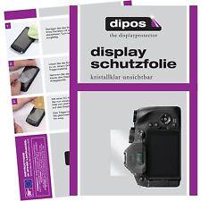 6x Panasonic Lumix FZ300 Schutzfolie Display Folie klar Displayschutzfolie dipos