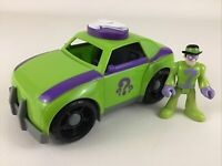 Fisher Price Imaginext DC Super Friends The Riddler Car Vehicle Figure 2009 Toy