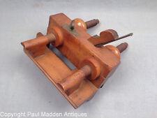 Antique Boxwood Plow Plane - J. Kellogg