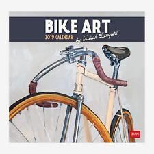 Bike Art 2019 Square Wall Calendar
