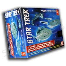 THE MOTION PICTURE 3-SHIP SET (MOVIE) - STAR TREK AMT BAUSATZ (1:2500) MODEL KIT