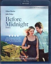 BEFORE MIDNIGHT ~ Ethan Hawke Julie Delpy Linklater ~ New Never-Played Blu-Ray