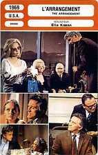 Movie Card. Fiche Cinéma. L'arrangement/The arrangement (USA) 1969 Elian Kazan