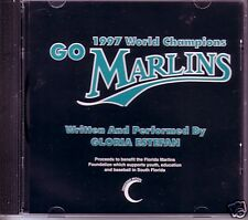 GLORIA ESTEFAN Go MARLINS UNRELEASED RARE TRACK PROMO DJ CD Single