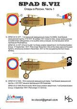 KV Decals 1/48 SPAD S.VII Imperial Russian Air Force 1917-1918