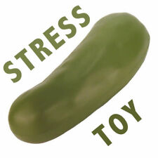 FOAM PICKLE STRESS TOY PICKEL SQUEEZE BALL GAG GIFT