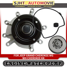 Water Pump w/ gasket for Jeep Grand Cherokee WG WJ WH WK Cherokee KK 3.7L 4.7L