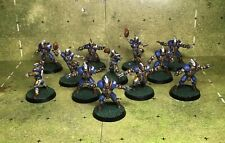 Painted Blood Bowl Human Team. 12 Latest Edition Games Workshop.