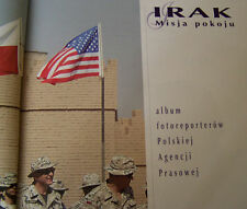 POLISH ARMY FORCES in IRAQ - MND C-S  ALBUM book UN NATO desert peace missions