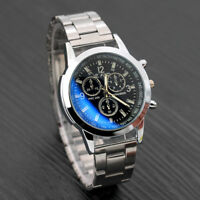 Luxury Quartz Analog Date Hour Mens Business Stainless Steel Wrist Watch Watches