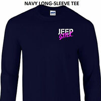 Jeep Girl Wrangler Rubicon Renegade Cherokee 4x4 Off Road Unisex LONG-SLEEVE TEE