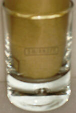 SMIRNOFF BUBBLE IN BASE SHOT GLASSES IN GREAT  CONDITION      FREE P&P