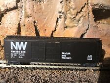 N Scale Micro trains 50' double door boxcar Nw Norfolk Western