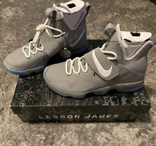 Nike Lebron XIV MAG Marty Mcfly Basketball 852405 005 NEW IN BOX Men Size 9.5