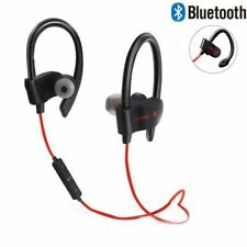 Phone Headset Headphone Stereo 1pc Mobile Bluetooth Earphone Neckband Wireless