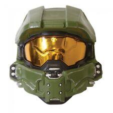 Master Chief Adult Mask Halo XBOX John-117 Mask Halloween Green Costume Gift