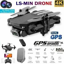 Foldable Drone WIFI FPV 480P/1080P/4K  HD Camera Wide-Angle Selfie RC Quadcopter