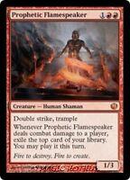 PROPHETIC FLAMESPEAKER Journey into Nyx MTG Red Creature — Human Shaman MYTHIC
