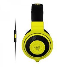Razer Kraken Mobile Headset for iPod/iPhone/iPad Neon Yellow 3.5 mm jack plug