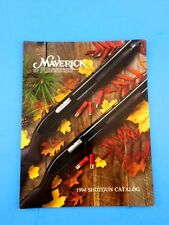 Mossberg Maverick Shotgun  Brochure Catalog 1994 Model 88 91 Firearm Advertising