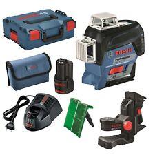 Bosch Linienlaser GLL 3-80 CG  1 x 2,0 Ah Akku, Halter BM1, L-BOXX grüner Laser