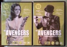 THE AVENGERS 65 set 1   DVD 2 disc set no slipcover