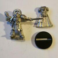 Warhammer 40k Space Marine Ultramarine Captain Rogue Trader Metal OOP 1990