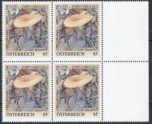 4er Block Philatelietag Steyr Gleink Nr. 8133569  Postfrisch **