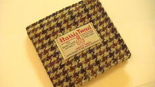 Brown beige black Harris tweed vegitarian wallet gift for him man boy groomsmen