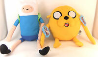 "ADVENTURE TIME 12"" PLUSH - CHOOSE FROM JAKE OR FINN - BRAND NEW WITH TAGS"