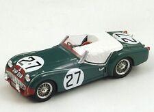 S1397 Spark 1/43 : Triumph TR3 S #27 Le Mans 1959 Ninian Sanderson - C. Dubois