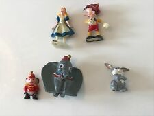 Marx Toys 1960/70s disneykins-Personajes De Disney-Incluye Dumbo, Alice & pinnocio
