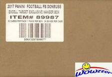 2017 Donruss Football EXCLUSIVE 36 Box HANGER CASE-1,800 Cards! MAHOMES RC Year!