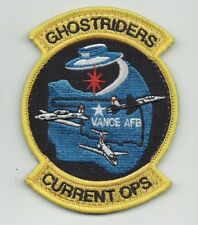 """USAF Patch 71st OPERATIONS SUPPORT SQUADRON, FLT OPS/""""CURRENT OPS"""", 4"""" X 3"""""""