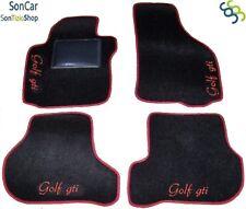 VOLKSWAGEN GOLF V GTI TAPPETI AUTO GOLF 5 +4loghi+4blok