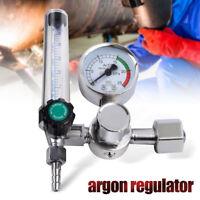 Argon Gas CO2 Mig Tig Flow Meter Regulator Flowmeter Welding Weld Gauge 0-25MPa