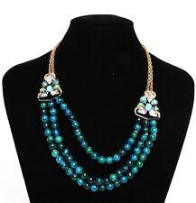 Alexis Bittar Multi Strand Chrysocolla Necklace 0601