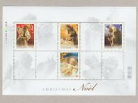 CHRISTMAS = Native Scenes = Souvenir Sheet of 4 stamps Canada 2009 #2343 MNH