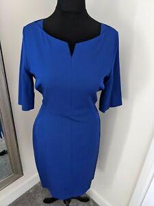 Women's L K Bennett Colblot Blue Dress,Size 14,New Without tags