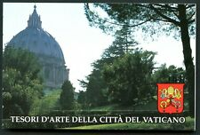 VATICAN Sc#917a-920a 1993 Architecture Booklet Mint OG NH