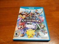 Super Smash Bros. (Nintendo Wii U, 2014) CIB Complete TESTED