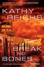 Break No Bones by Kathy Reichs (Hardback, 2006) 1st Edition, Autographed