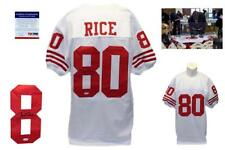 Jerry Rice Autographed SIGNED Jersey - PSA/DNA Authentic - White
