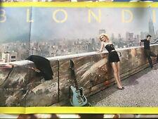 Blondie Autoamerican Original Poster Authentic And Rare Promo