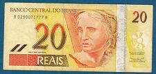 BRÉSIL - 20 REAIS Pick n° 250b. 40 de 2002. en TTB   A 0290071777 A