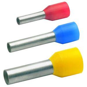 Klauke Aderendhülsen mit Isolationskragen 0,5mm² bis 16mm² nach DIN - ABVERKAUF